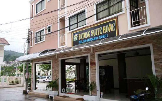 Patong Suite Home : outside view