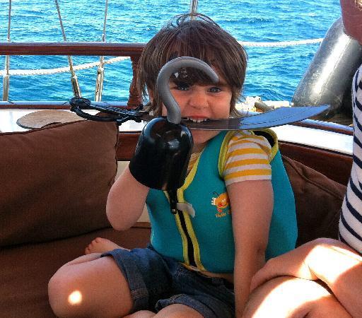 Aqua Marine Boat Charters: Pirate infested waters