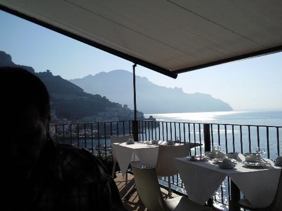 Miramalfi Hotel: Frühstücks Terasse 3 O.G