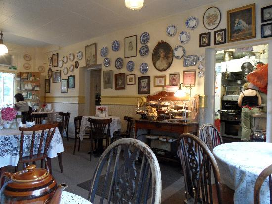 Clarinda's Tea Room: Intérieur salon de thé