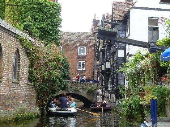 Ducking Stool Picture Of Canterbury Historic River Tours