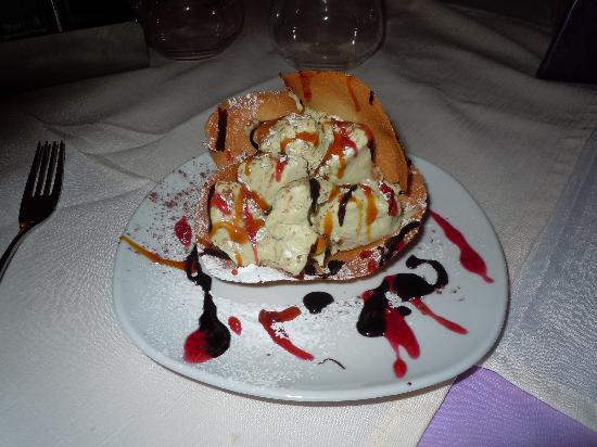 Al Covo Dell'Arte: uno de sus helados deliciosos