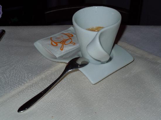 Al Covo Dell'Arte: la taza del café