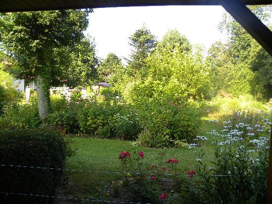 Hôtel Ferme de La Raterie : vue depuis la fenetre de notre chambre