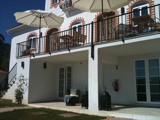 Casa nas Serras: les chambres du bas