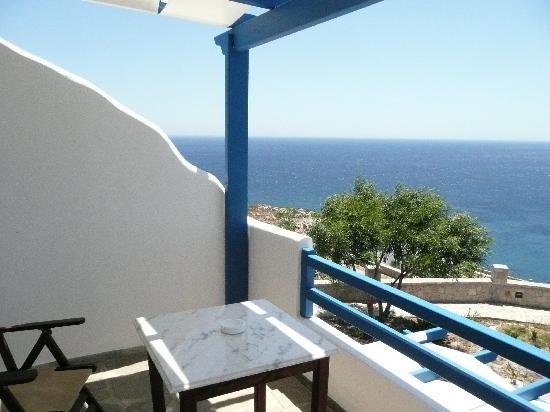 Psaravolada Resort: Vista terraza