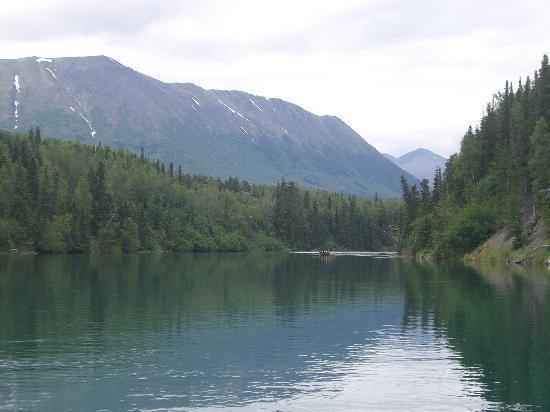 Krog's Kamp Lodge and Cabins: Floating on the Upper Kenai