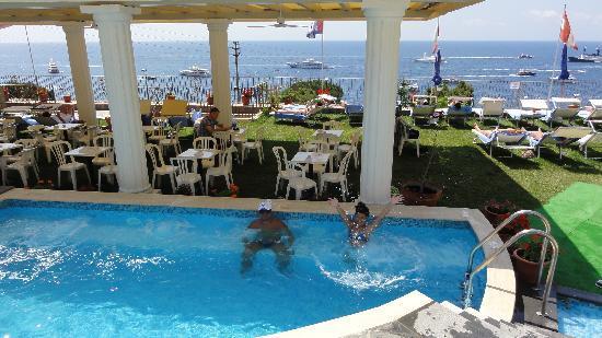 Amazing View Of The Faraglioni Rocks Picture Of Hotel Weber Ambassador Capri Capri Tripadvisor
