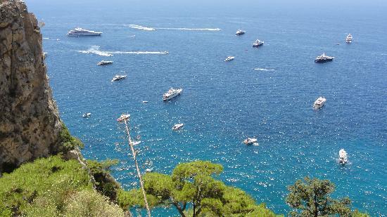 Hotel Weber Ambassador Capri: view