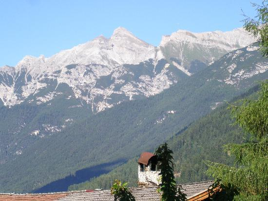 Alpenhotel Kindl: View from Room 001