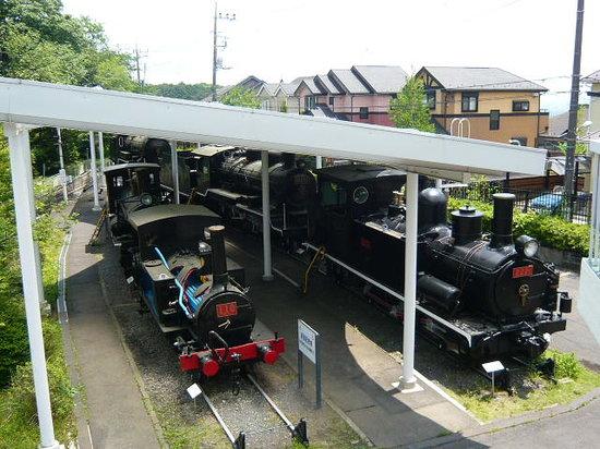 Ome, Japan: 機関車