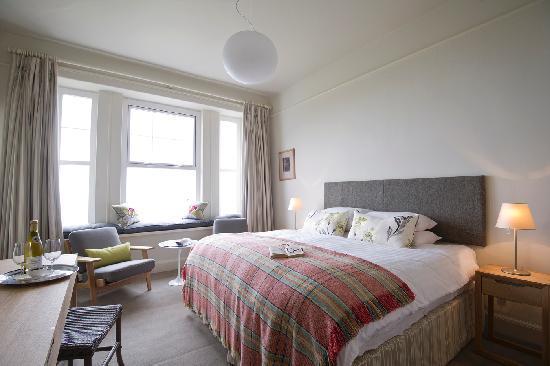 Bedroom at Polurrian Bay Hotel