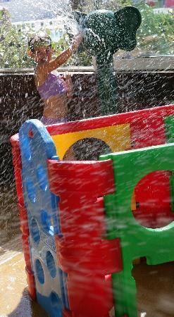 Siblu Villages - Le Bois Masson : L'espace de jeux aquatique