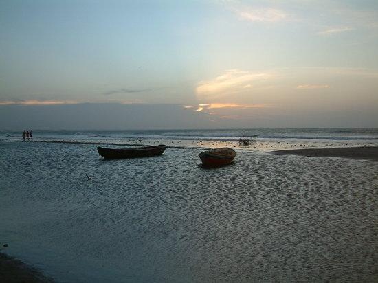 Jericoacoara Beach: Barcos na praia de Jericoacoara