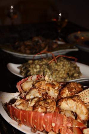 El Jardin de Frida: Late night lobster!