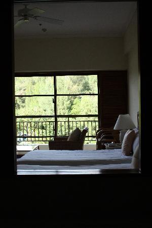 The Busena Terrace: お部屋 バスルームから撮影しました