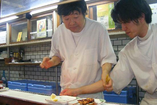 Toyokuni: Chef and assistant