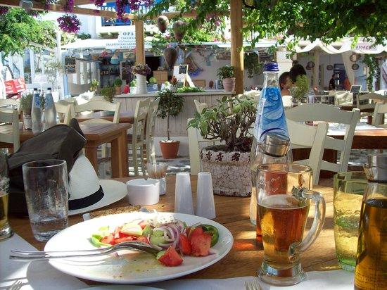 Familia Omerta di Cucina: Our lunch at La Familia, Mykonos