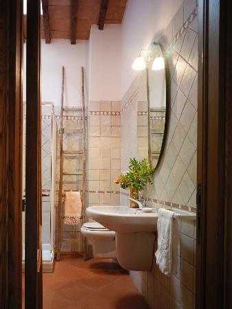 Podere La Tesa: Bagno ospiti