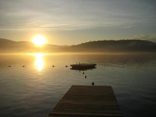 Ohana Camp: Sunset on the Lake at Ohana