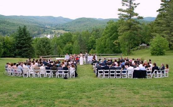 Ohana Camp: Wedding Ceremony on the Ohana Lawn