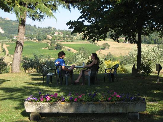 Agriturismo Villa Mazzi: In the Garden at Villa Mazzi