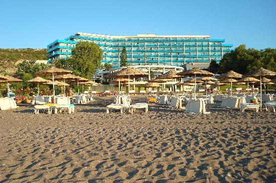 Hotel Calypso: le Calypso Beach, vu de la plage
