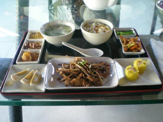 Ametis Villa: Chinese breakfast