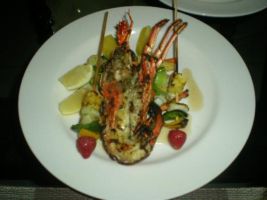 Ametis Villa: Grilled lobster