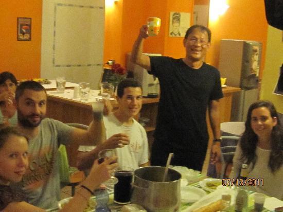 Hostel Gallo d'Oro: party