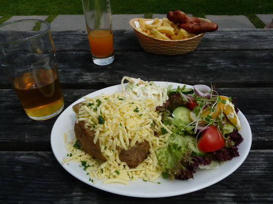 Rugglestone Inn: Our food - generous portions, excellent quality
