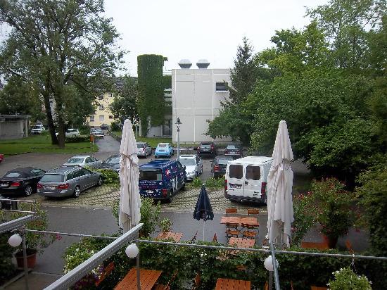 Hotel und Tafernwirtschaft Fischer: View from the room (we were on the first floor)