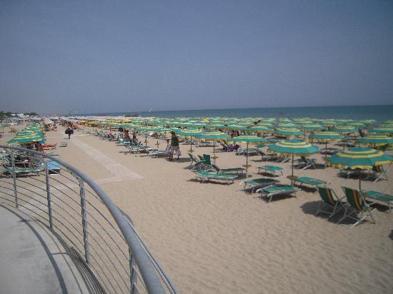 """Hotel Baltic: La spiaggia dalla """"Terrazza"""""""