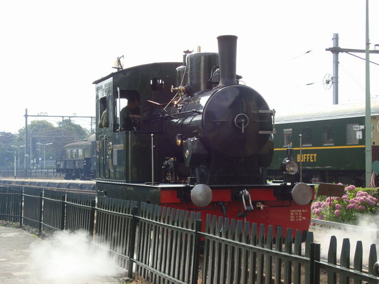 Museum Stoomtram Hoorn-Medemblik: Steam Engine at Hoorn