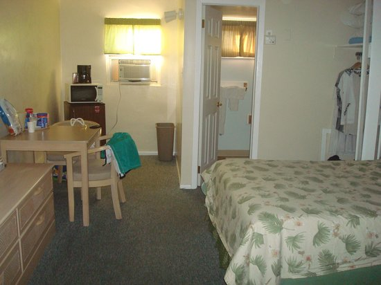 The Islander Motel: room again