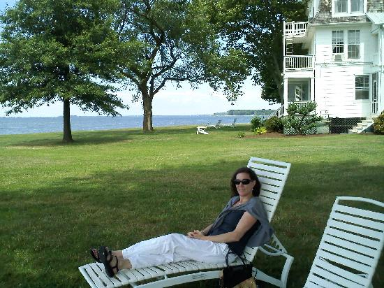 Wades Point Inn on the Bay: no caption needed...
