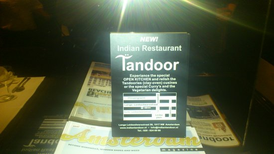 Photo of Indian Restaurant Tandoor Special Indian Restaurant at Lange Leidsedwarsstraat 56, Amsterdam, Netherlands