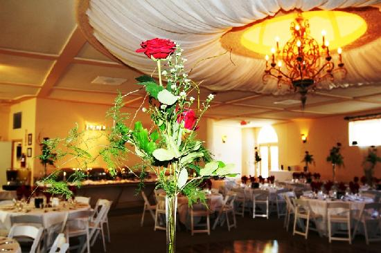 Power's Mansion Inn: Beautiful Reception Ballroom