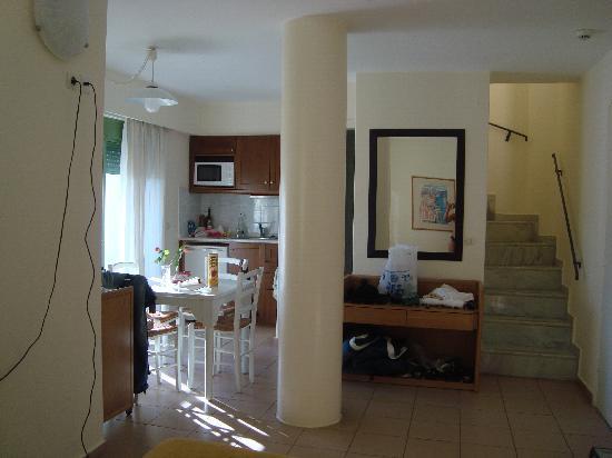 Grand Leoniki Residence : vista del piano terra del appartamento