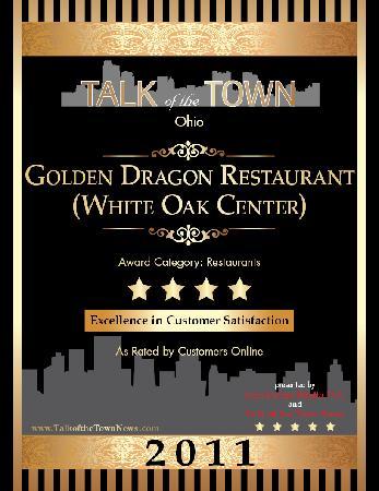 golden dragon chinese restaurant cincinnati ohio