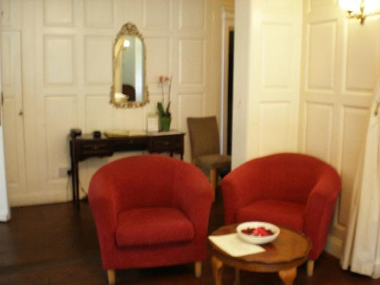 East Cliff Cottage Hotel : RECEPTION ROOM