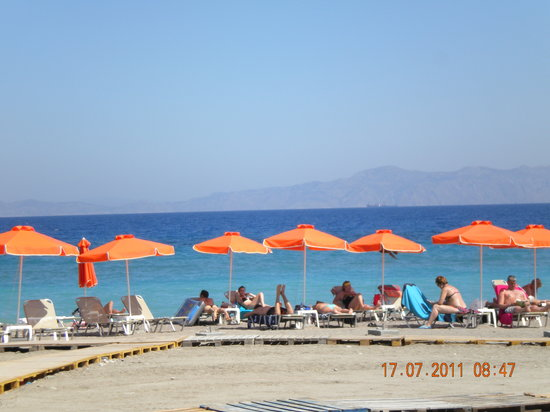 Ialyssos, Hellas: beach