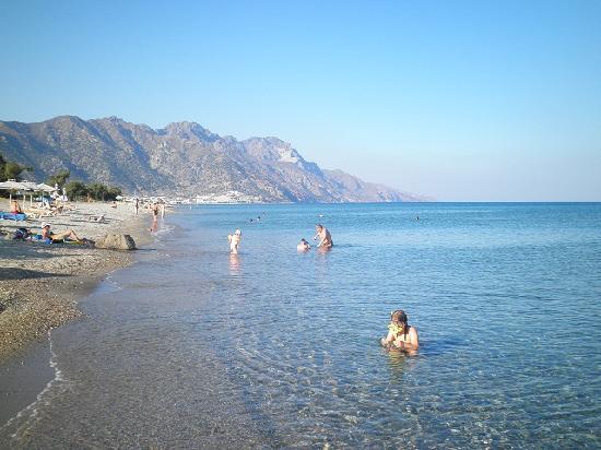 Asteras Resort: The beach