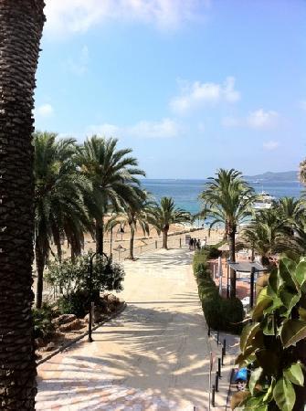 Hotel Figueretes: vista dalla nostra camera