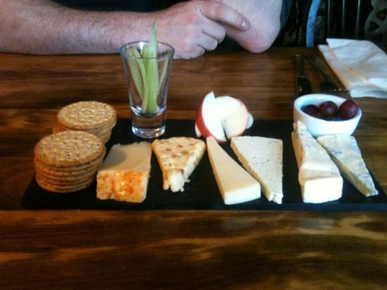 The Bay Horse: our cheese slate