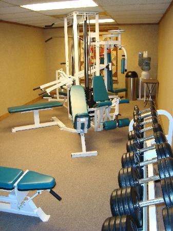 Bay Park Hotel: Gym