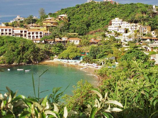 Rio Buzios Beach Hotel: Vista de la playa Joao Fernandes