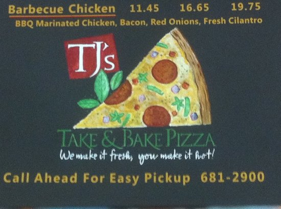 TJ's Take & Bake Pizza Co. : north end of Hilton Head,SC