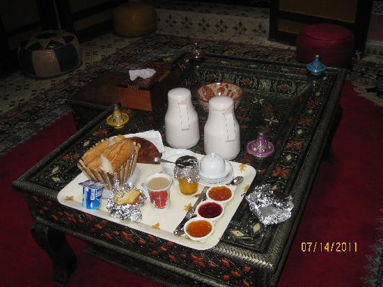 Riad Atika Meknes : deasayuno