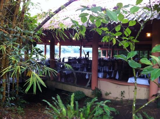 لاجونا لودج تورتوجويرو: restaurante